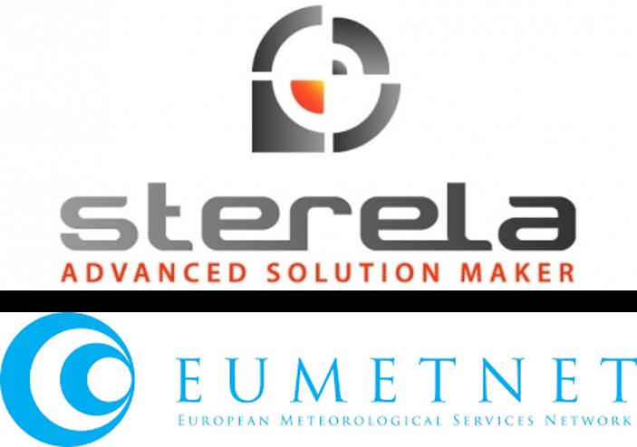 STERELA and EUMETNET (European Meteorological Services Network) logos