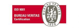 ISO 9001 certification logo