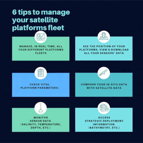 6 tips to manage your satellite platforms fleet