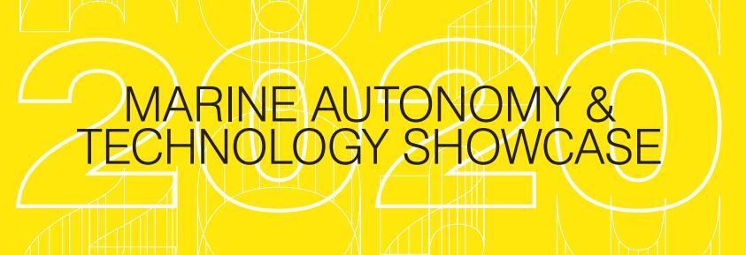 Marine Autonomy & Technology Showcase 2020