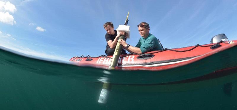 Argo float at sea